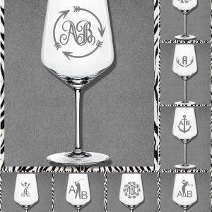 Elfen & Helden Gläser Wein- Aperol- Hugo Monogramm