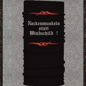 """Elfen & Helden Halstuch – Kopftuch – Schal  """" Nackenmuskeln statt Windschild """""""