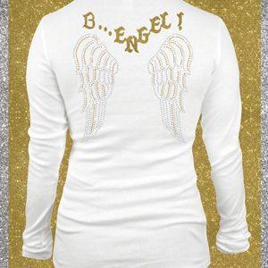 Elfen & Helden Shirt Damen B-Engel Langarm