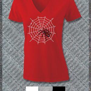 Elfen & Helden Shirt Damen Spider Halbarm