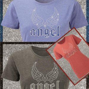 Elfen & Helden Shirt Damen Angel Wings