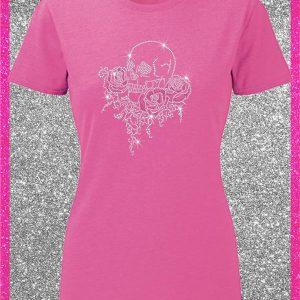 Elfen & Helden Shirt Damen Skull & Roses
