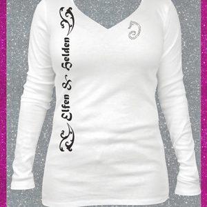 Elfen & Helden Shirt Damen XJR Lady Power Langarm