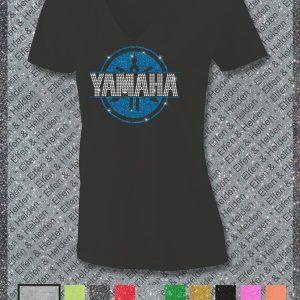 Elfen & Helden Shirt Damen Yamaha Split Langarm