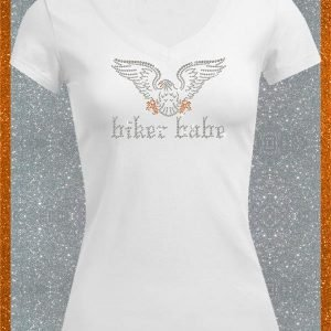 Elfen & Helden Shirt Damen Eagle Biker Babe