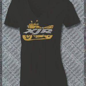 Elfen & Helden Shirt Damen XJR Split Halbarm
