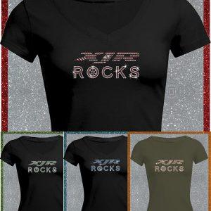 Elfen & Helden Shirt Damen XJR Rocks Halbarm
