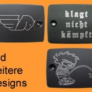 *Motor-Designparts* Brake Fluid Container Lid Buell Special