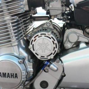 *Motor-Designparts* Lichtmaschinendeckel Yamaha silver