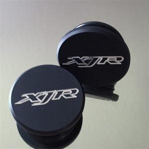 *Motor-Designparts* Schwingenkappen Yamaha XJR/FZS Fazer Black